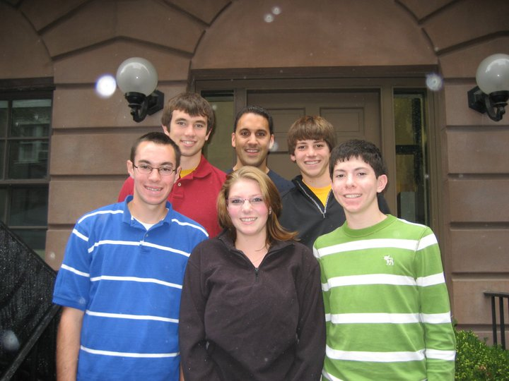 Class of 2011- Back  (l to r): Mike Brewster, John Liporace, James Lynch, Front (l to r): Brennan O'Donnell, Kendra Andrew, David Ciuk