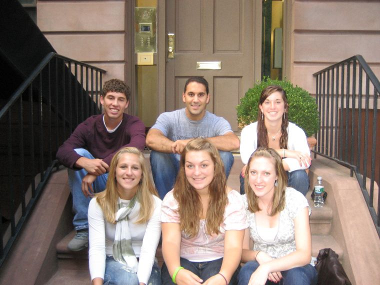 Class of 2010- Back (l to r): Andy DiDonato, John Liporace, Meg McEachron  Front (l to r): Kelsey Rogers, Maeghan DiMaggio, Erin Shea
