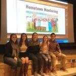 2017 Finalist present the Hometown Mentoring program to their class