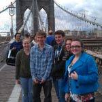 Class of 2012 at Brooklyn bridge