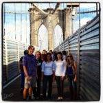 Class of 2013 at the Brooklyn Bridge