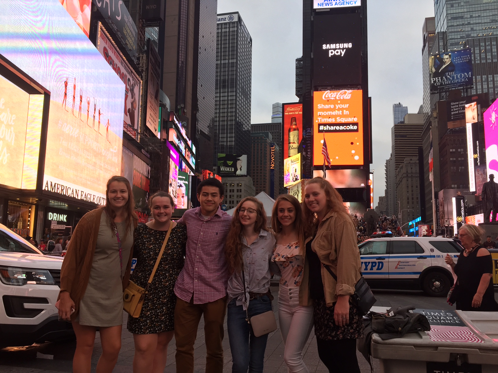 2018 Finalists in Times Square