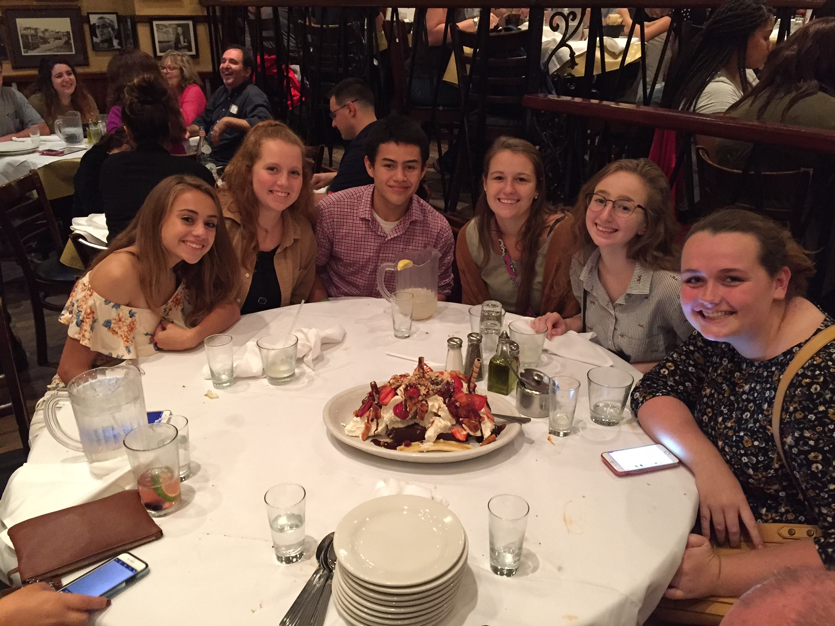 2018 JLS Finalists at dinner in NYC